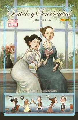 Clásicos Ilustrados Marvel. Sentido y Sensibilidad