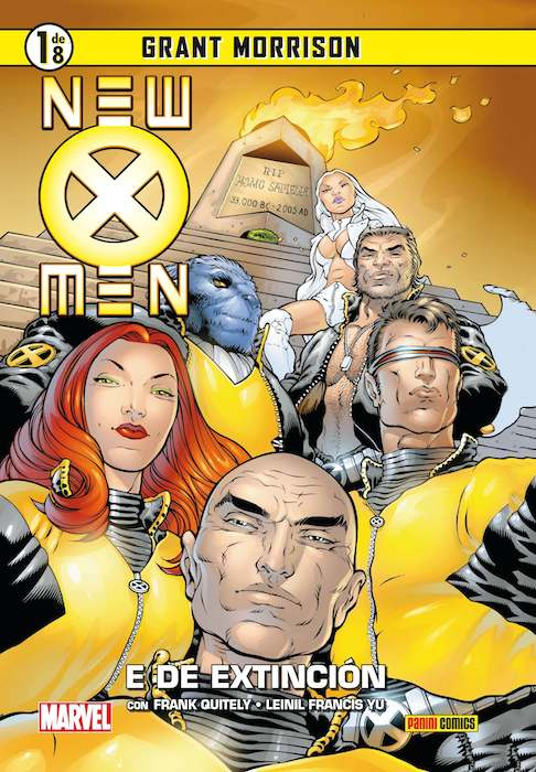 coleccionable new x-men 1