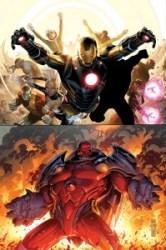 Portada de Avengers & X-.Men: AXIS #1