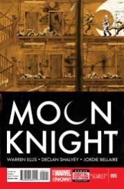 Portada Moon Knight #5