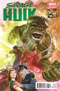 Portada alternativa Savage Hulk #1