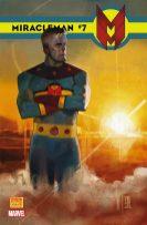 Portada alternativa Miracleman #7