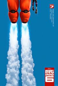 Póster de Big Hero 6 / 6 Héroes en EE.UU.
