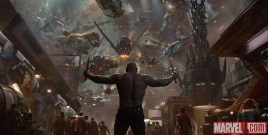 Nuevas imágenes de la película de los Guardianes de la Galaxia