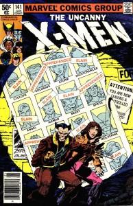 Portada de Uncanny X-Men #141