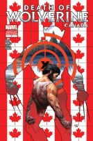 Death of Wolverine 1 Canada Variant