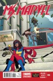 Ms. Marvel 6 - Portada