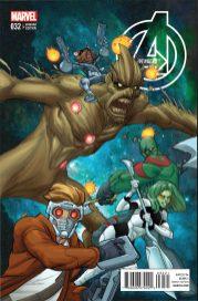 Portada alternativa Avengers #32