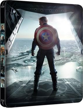 Versión metálica del blur-ray de Capitán América; Soldado de Invierno
