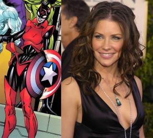 Red Queen, interpretado por Evangeline Lilly en la pelicula del Hombre Hormiga