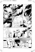 Página 8 de Star Wars 1, a cargo de John Cassaday.