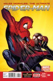 Miles Morales Ultimate Spider-Man 4 - Portada