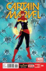 Portada Captain Marvel #6