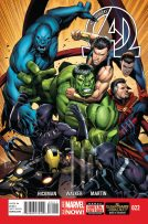 Portada New Avengers #22