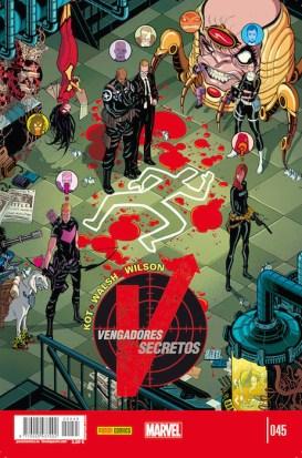 Vengadores Secretos 45 (Panini)