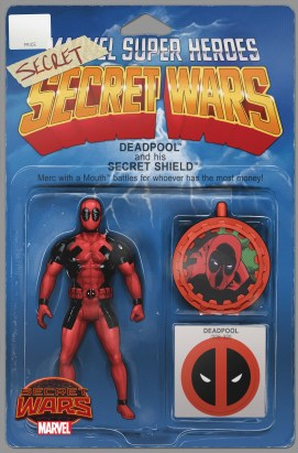 DEADPOOL'S SECRET SECRET WARS #1 (OF 4) JOHN TYLER CHRISTOPHER
