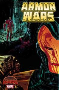 Armor Wars #1, portada alternativa a cargo de Vanessa Del Rey