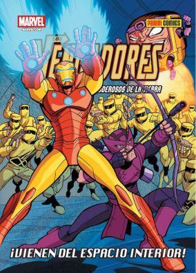 Los Vengadores: Los Héroes Más Poderosos de La Tierra - ¡Vienen del espacio interior! (Panini)