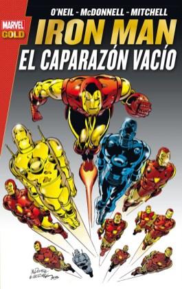 Marvel Gold. Iron Man: El Caparazón Vacío (Panini)