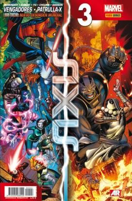 Vengadores y Patrulla-X: Axis 3 (Panini)