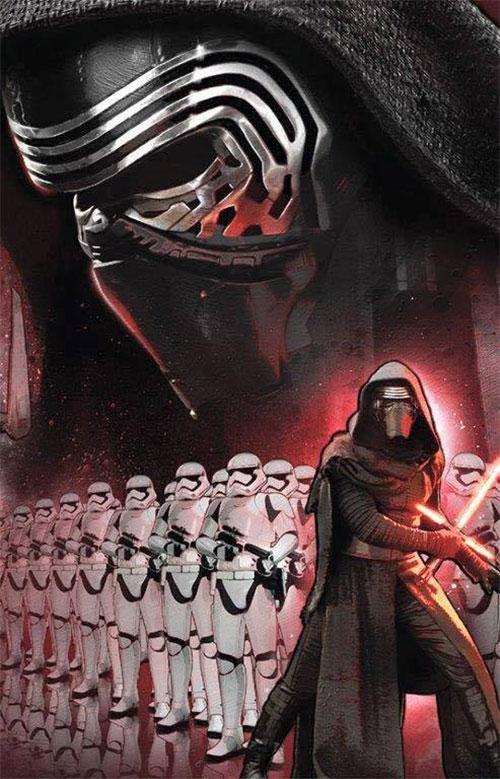 Kylo Ren y los nuevos stormtroopers