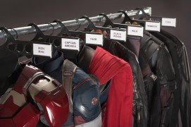 Marvel's Avengers: Age Of Ultron Behind the Scenes image Ph: Jay Maidment ©Marvel 2015