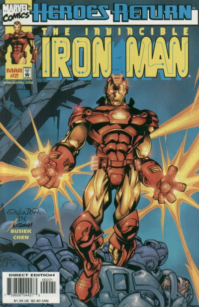 Iron Man Vol.3 #2