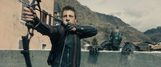 Marvel's Avengers: Age Of Ultron Hawkeye (Jeremy Renner) Ph: Film Frame ©Marvel 2015