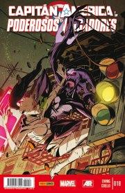 Capitán América y los Poderosos Vengadores 18 (Panini)
