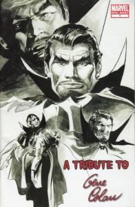 La impresionante ilustración de Colan sirvió de portada para este especial dedicado a Colan