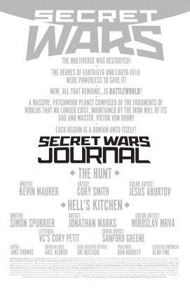 Secret Wars Journal 2 2