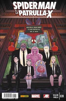 Spiderman y La Patrulla-X 39 (Panini)