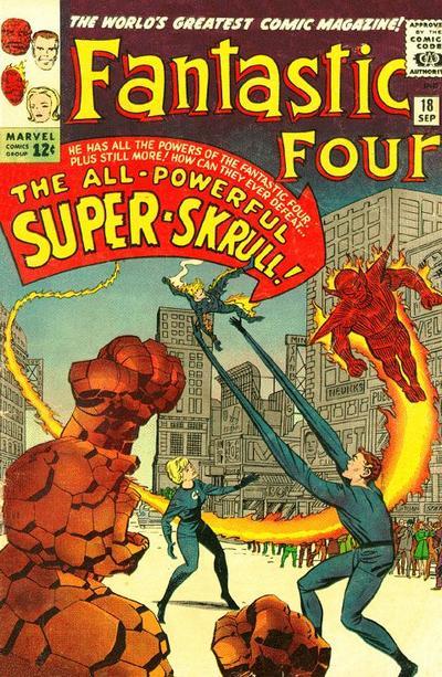 Fantastic Four 18