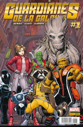 Guardianes de la Galaxia v2, 37 (Panini)