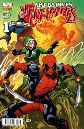 Imposibles Vengadores 36 (Panini)