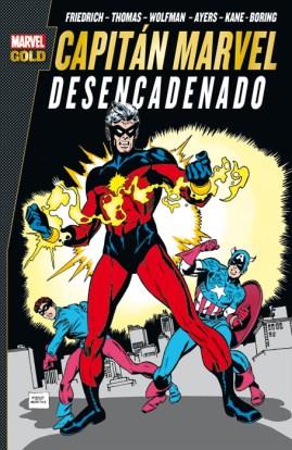 Marvel Gold. Capitán Marvel: Desencadenado (Panini)
