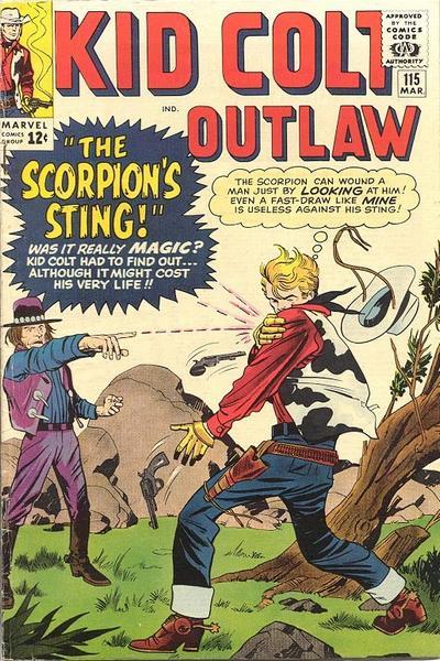 Kid Colt Outlaw 115
