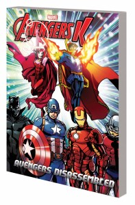 AVENGERS K BOOK 3: AVENGERS DISASSEMBLED TPB SCRIPT BY JIM ZUB