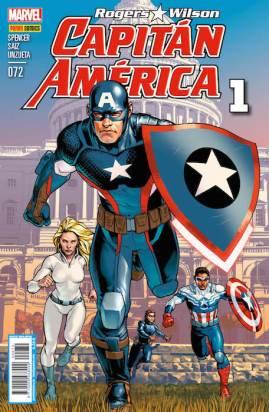 Rogers - Wilson: Capitán América 72 (Panini)