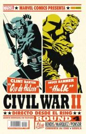 Civil War II 4 (Portada Alternativa) (Panini)