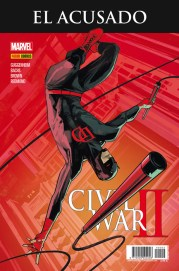 Civil War II: El Acusado (Portada alternativa) (Panini)