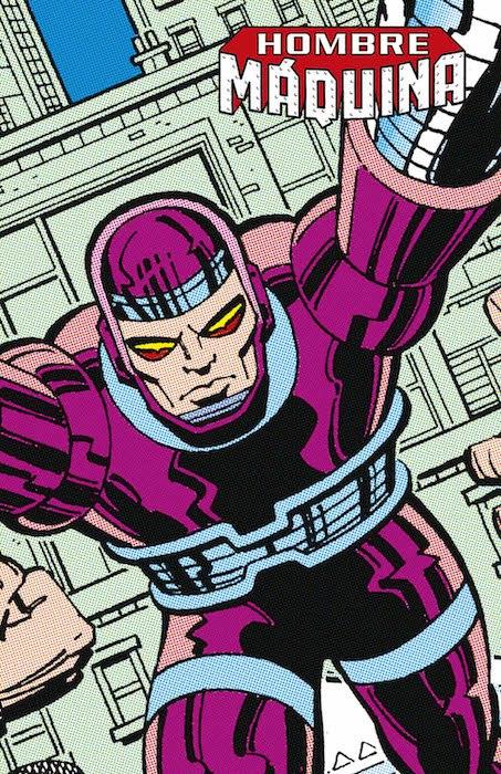 Marvel Limited Edition. Hombre Maquina (Panini)