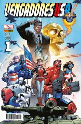 Vengadores USA 1 (Panini)