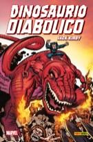100% Marvel HC. Dinosaurio Diabólico de Jack Kirby (Panini)