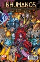 Inhumanos: Familia Real 38 (1) (Panini)