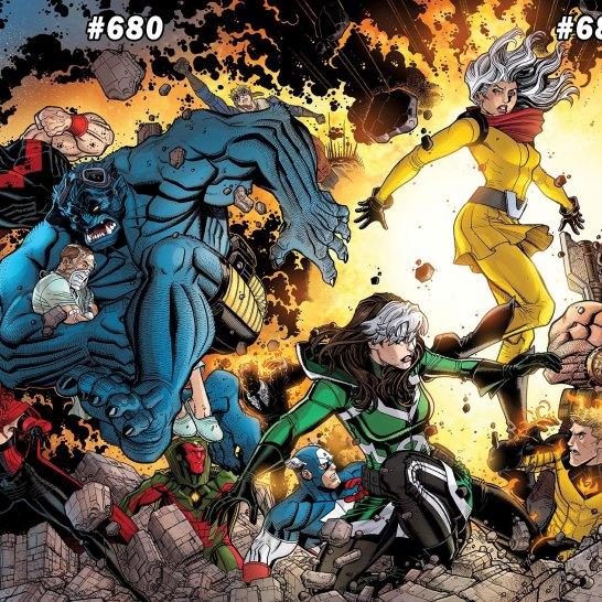 Avengers 679-682