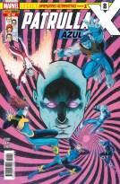 Patrulla-X Azul 8 (Panini)