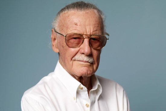 """TORONTO, ON - SEPTEMBER 10: Producer Stan Lee of """"Comic-Con: Episode IV - A Fan's Hope"""" poses for a portrait during the 2011 Toronto Film Festival at the Guess Portrait Studio on September 10, 2011 in Toronto, Canada. (Photo by Matt Carr/Getty Images)"""
