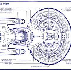Uss Enterprise Diagram 1996 Ford Explorer Sport Radio Wiring Star Trek Ncc 1701 D Blueprints Schematics Ventral View