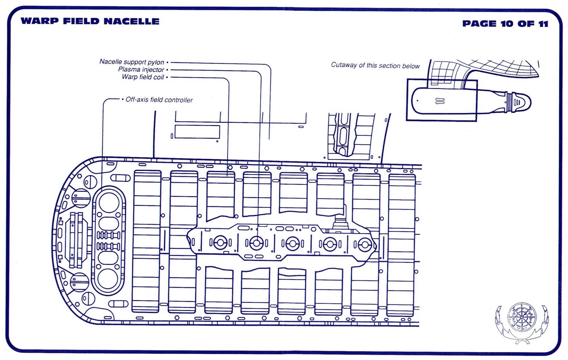 uss enterprise diagram house wiring software star trek ncc 1701 d blueprints schematics warp nacelle